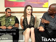 In high-quality porn compilation young bitches getting literally poured with cum after hardcore sex 11