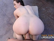 Regional manager Chanel Preston doesn't put things off and new boyfriend fucks her at first date