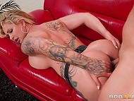Mind-boggling woman Ryan Conner with incredible assets adores anal fucking and cum on face 7