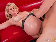 Mind-boggling woman Ryan Conner with incredible assets adores anal fucking and cum on face 9