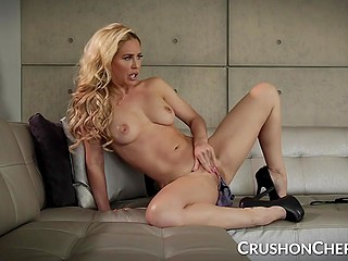 Impressing pornstar Cherie DeVille tells and demonstrates how to spend sexual energy