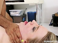 Experienced Latin guy roughly penetrates submissive mistress all over small table 11