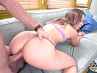 Teen housewife respects chores list and next thing to do is anal fucking from behind