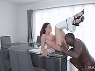 Chanel Preston finally divorces and this is good reason to enjoy sex with black attorney 6