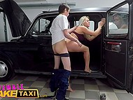 Czech taxi driver wants young mechanic to repair her car urgently and she is ready even for fucking 9
