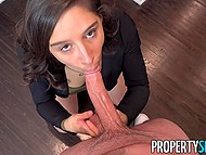 Real estate agent Abella Danger ready to please client's dreams if he concludes the deal 5