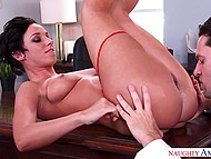 Raunchy doctor needs to lick and fuck Jada Stevens' pussy for right diagnosis 7