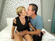 Fun with pretty granny is what young buddy always wanted to try in his sexual life 5