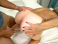 Fun with pretty granny is what young buddy always wanted to try in his sexual life 7