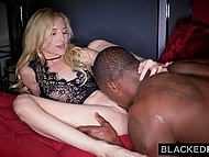 Petite blonde Piper Perri has fun with Ebony inamorato while boyfriend is out of town 4