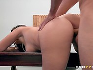 Babe wanted so much to get a job that she was ready to be carnal with handsome manager 7