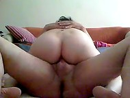 Mature woman from Turkey didn't lose the passion to do it on camera with husband 9