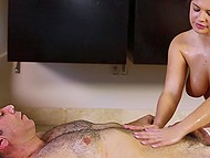 Services of masseuse Keisha Grey are the best because, among other things, she gives blowjob 7