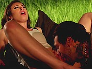 Guy equipped van to take there picked up lassies and Casey Calvert became his first prey 5