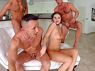 Number of fuckers rises during anal banging but Tina Kay doesn't care about it 5