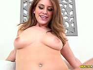 Strong desire of fucking brings marvelous girl Delilah Blue to house where skilled fucker lives 5