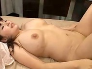 Partner couldn't leave such a voluptuous woman from Japan without titfuck before intercourse 10