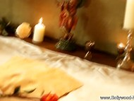 Bollywood presents mesmerizing Indian sweetheart who strips in pleasant environment 6