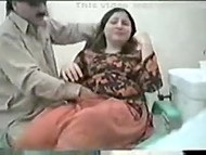 Arab patient comes to gynecologist, who breaks main professional rule and fucks her 7