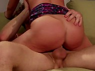Curly guy and busty MILF Britney Amber don't limit themselves to vaginal sex and try anal 6