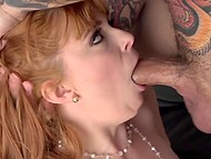 Spicy girl Penny Pax can't stop enjoying penis of handsome man working inside her mouth and twat 8