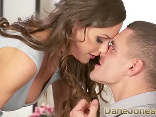 Lithuanian MILF Tina Kay has no other reasons to meet young guy but for passionate fuck
