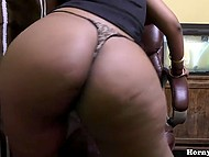 Homemade video of tireless Indian woman with big ass dancing seductively and dildoing pussy 6