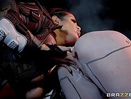Power Banger Katrina Jade has secret relationship with robotic humanoid Jessa Rhodes 9