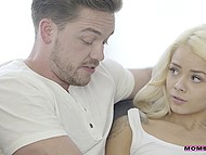 After Alix Lynx is fucked by stepdaughter's boyfriend, she teaches him how to satisfy Elsa Jean 7