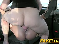 Romanian passenger follows old tradition and has sex with handsome driver in his taxi 8