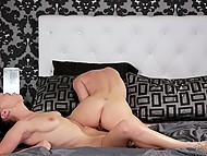 Cutest girl confidently licks and fingers pussy of bestie who has never had lesbian sex before 4