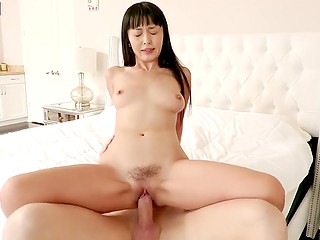 Buddy has rough sex with new Asian roommate Marica Hase who was in need of good fuck
