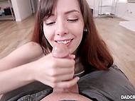Девушка замечает, что мачеха совсем не ценит своего мужа и выражает ему свою симпатию путём миника 6