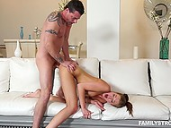 Guy can see his stepdaughter wants banging and he rather it's be better she does it with him 11