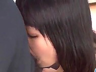 Tempter carefully shaves asshole of obedient Japanese girl to put fat cock there after it 8