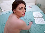 Exams are close but boyfriend doesn't allows her to study so she decides to satisfy him 6