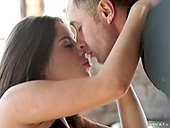Wonderful foreplay with blowjob and ass fingering performed by beautiful young couple 8