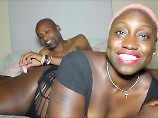 Mature black couple finally gets brave enough to record bedroom games on camera