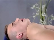 Compilation of porn videos starring gay masseurs stretching their clients' assholes 7