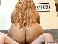Ebony BBW should prepare skinny student for upcoming exams but she rides his cock instead of it 10