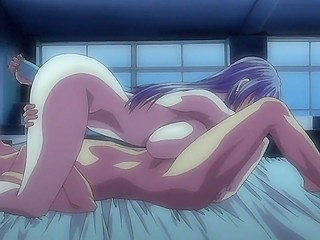 Young character of XXX anime clip gets lucky to fuck a new busty girlfriend every evening