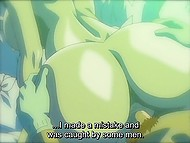 Young character of XXX anime clip gets lucky to fuck a new busty girlfriend every evening 6