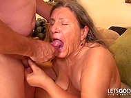 Young days of old German woman are in the past still need for hard cock will never fade away 11