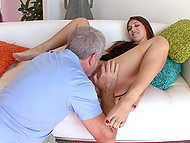 Man can't understand how his stepdaughter can be such a slut but why can't he get it on with her 5