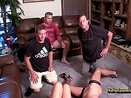 Paris Rose and her mature girlfriends are always ready to organize dirty orgy at home 11