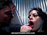 Rough sex games with impudent master drive Latina slut Luna Star to multiple squirting orgasms 3