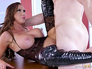 Professional squad of specially trained voluptuous beauties serves few large boners 10