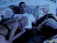 Slutty babe Emma Hix uses stepfather's impressive phallus to satisfy her crave for hard sex 3