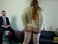 Now husband can see on the web a porn video of his chubby wife being bonked by an English gentleman 3