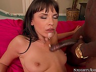 There is nothing better than strong black cock for MILF's pussy and huge portion of sperm for her mouth 11